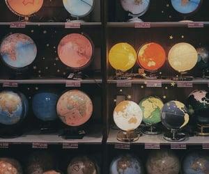 aesthetic, globe, and alternative image