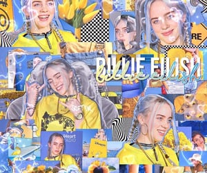 billie, colorful, and overlay image