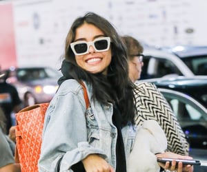 airport, smile, and madison beer image