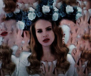 lana del rey, born to die, and grunge image
