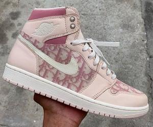 dior, nike, and pink image