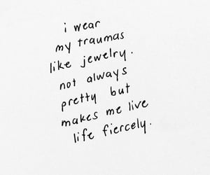 quotes, words, and jewelry image