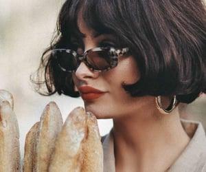 bread, fashion, and sunglasses image