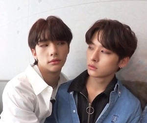 hyunjin, stray kids, and lee know image