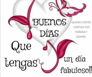 amistad, buenos días, and saludo image