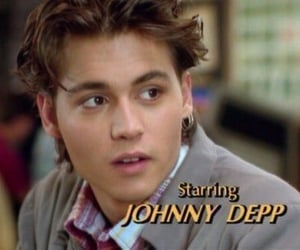 johnny depp, boy, and movie image