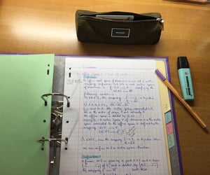 goals, notes, and study image