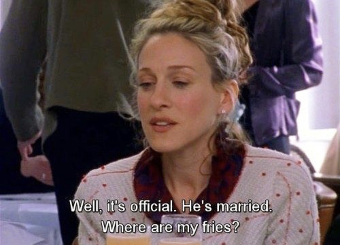Carrie Bradshaw, girl, and quote image