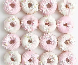 beautiful, donuts, and pink image