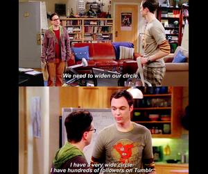 the big bang theory, big bang theory, and tumblr image