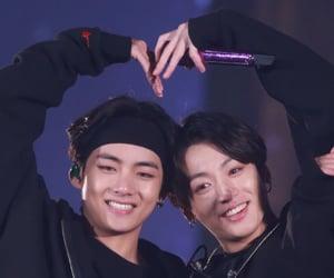 bts, taekook, and jungkook image