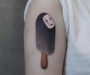 spirited away, el viaje de chihiro, and no face tatto image