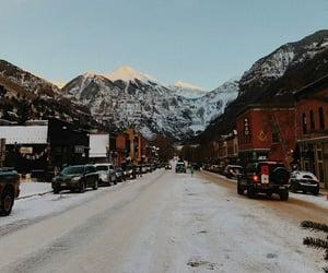 mountains, nature, and season image