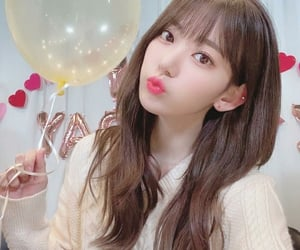 sakura, izone, and kpop image