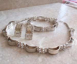 etsy, jewelry set, and screw back earrings image