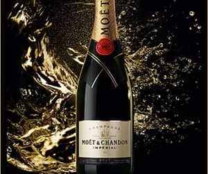 champaign and moet & chandon image