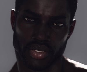 black men, darkskin, and melanin image
