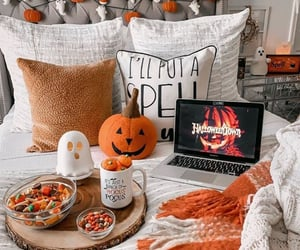 autumn, bedroom, and boo image