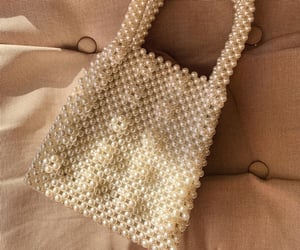 bag, fashion, and pearls image