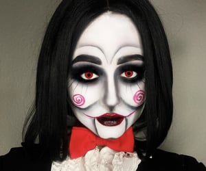 aesthetic, Halloween, and make-up image