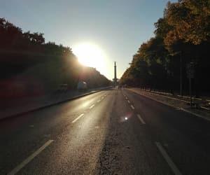 berlin, sun, and germany image