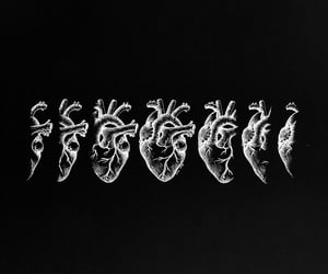amore, black, and black&white image