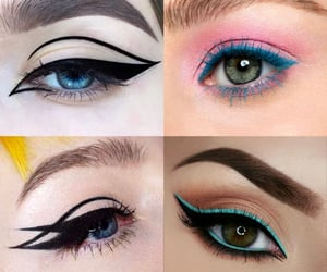 belleza, maquillaje, and color image