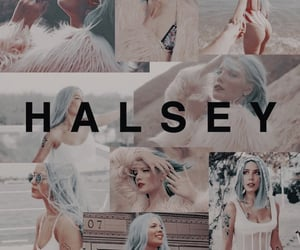 wallpaper and halsey image