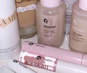 makeup, glossier, and fashion image