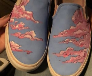 shoes, vans, and shoeart image
