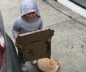 mood, pizza, and sad image