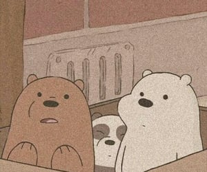 wallpaper, aesthetic, and we bare bears image