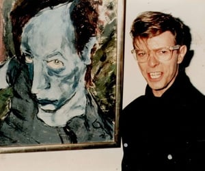 david bowie, art, and painting image