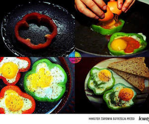 breakfast, colors, and eat image