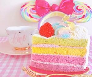 cake, disney, and mickey ears image