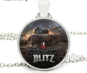 necklace, blitz, and glass dome image