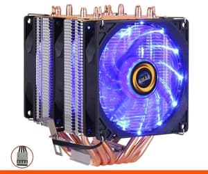 high quality, cpu cooler, and rgb fan image