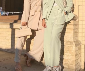 fashion, pastel, and friend friends image