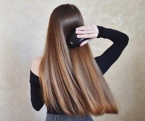 beautiful hair, beauty, and cute girl image