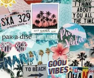 wallpaper, beach, and summer image