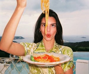 kendall jenner, food, and model image