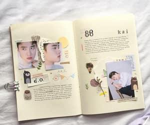 diary, journal, and korean image