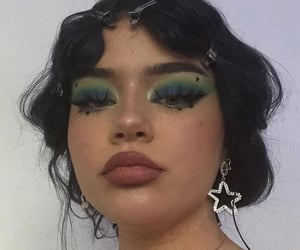 makeup, girl, and aesthetic image