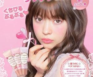 makeup, pink, and japanese image
