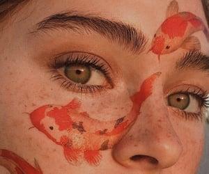 aesthetic, eyes, and fish image