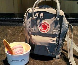 food, ice cream, and fjallraven image