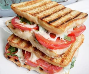 food, lunch, and sandwich image
