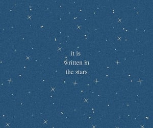 quotes, stars, and night aesthetic image