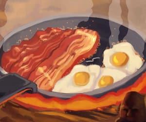 breakfast, fanart, and ghibli image