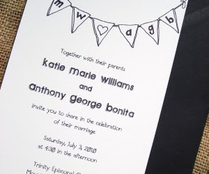 banner, invitation, and wedding image